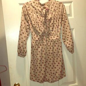 Fall long sleeve dress.